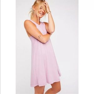 Free people beach lavender dress